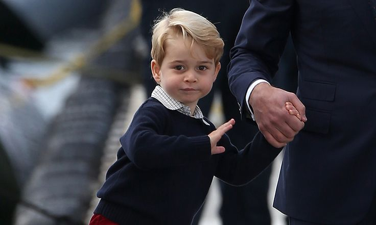 Prince William revealed his son is setting into school life.