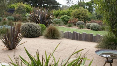 an amazing look, so unexpected to see topiary done to australian natives.. cool garden