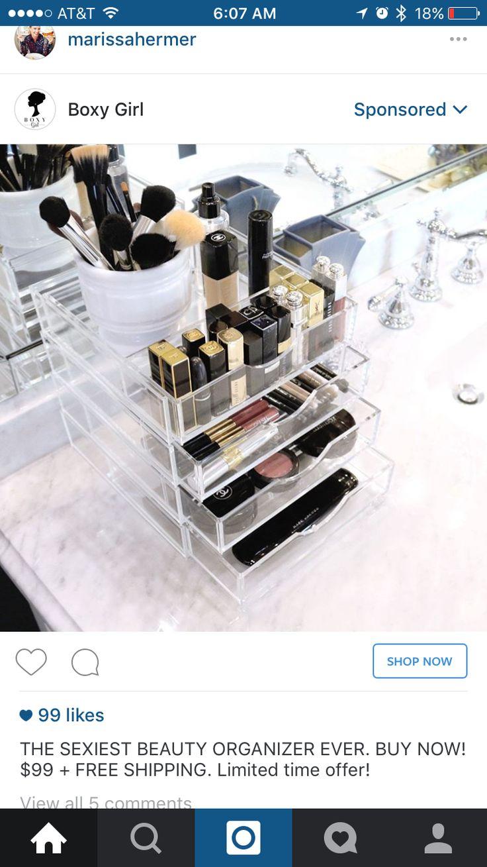 Pin by Jenny Mayberry on Beauty Makeup storage case