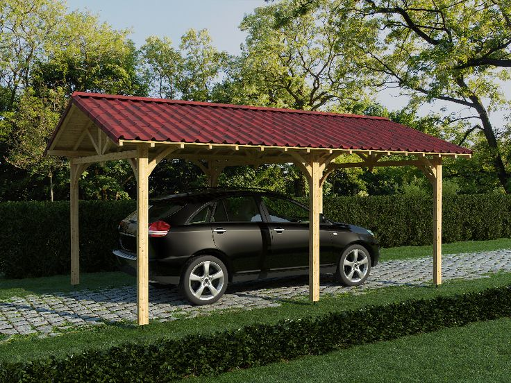 Small carport head odv aux carport 3d car ports for 3 car carport designs