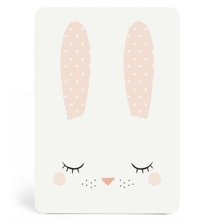 Découvrez cette magnifique Carte Bunny Girl Zü. Une création exclusive...