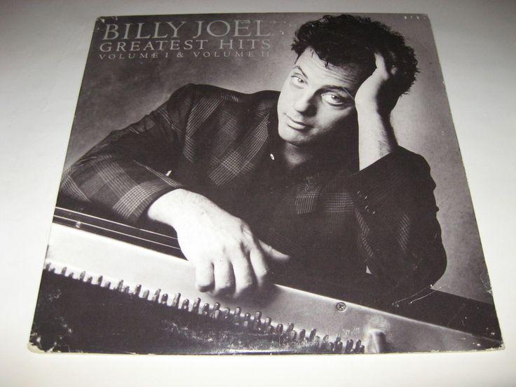 Billy Joel – Greatest Hits Volume I & Volume II 1st Pressing 1985 US 2LP