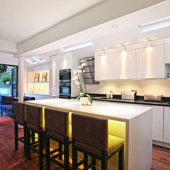 Küche designs küchenbeleuchtung ideen und moderne küchenbeleuchtung treppe trendküche neu küche