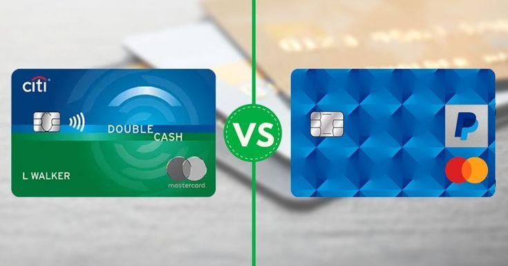 Citi Double Cash vs. PayPal Cashback Mastercard: Top Cash Back