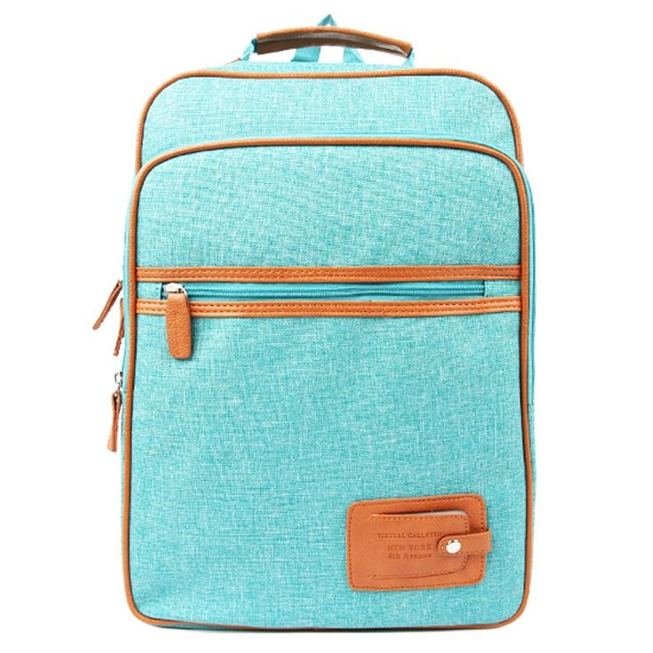 Square Backpack College School Bag for Unisex 1542