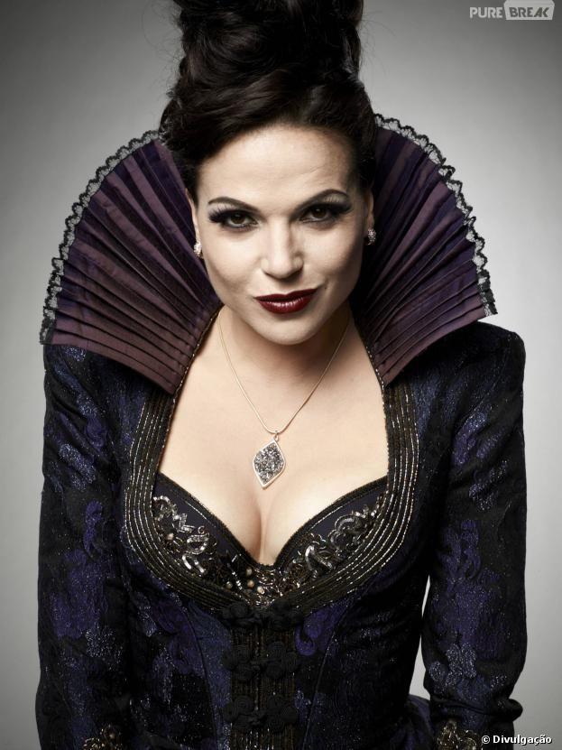 """Regina (Lana Parrilla) se tornou uma pessoa melhor em """"Once Upon a Time"""" pelo seu filho Henry (Jared S. Gilmore)"""