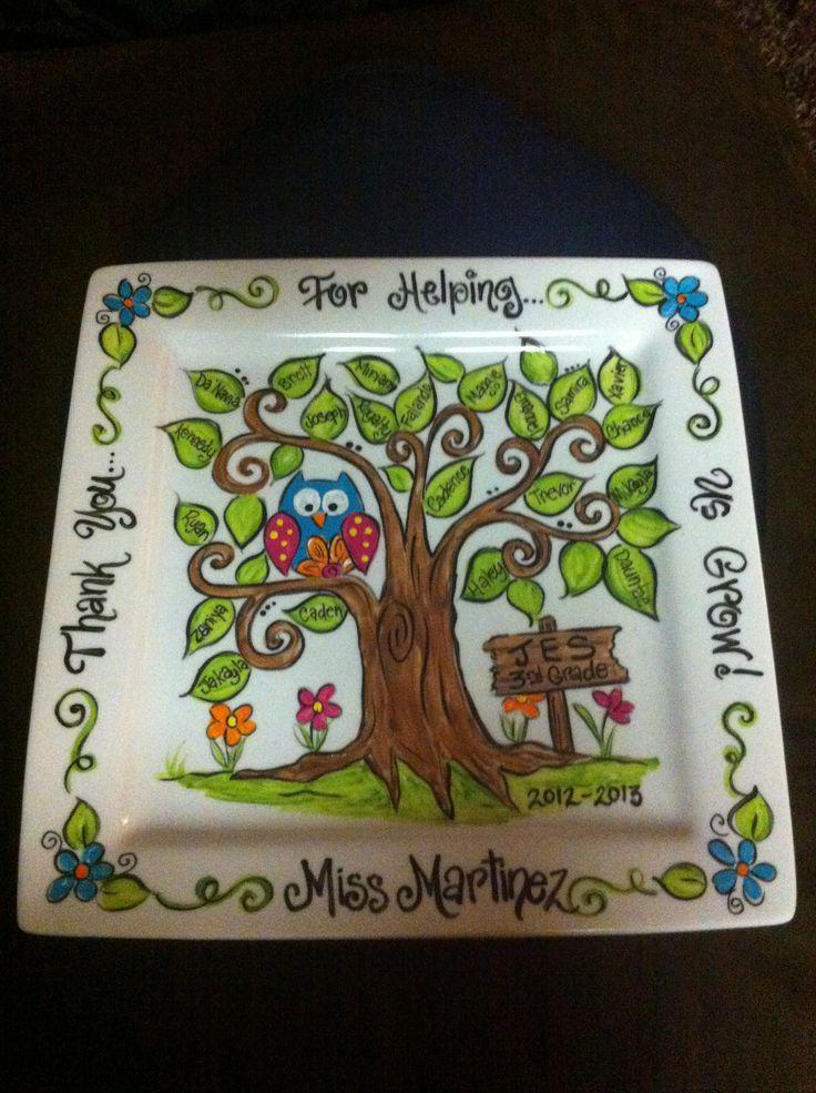 End of year teacher gift!!