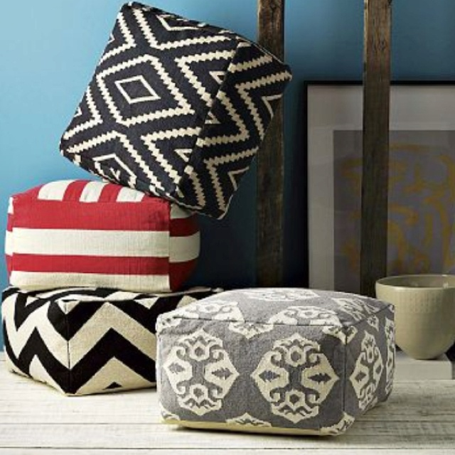Poof Extra Seating Home Pinterest Poof Extra