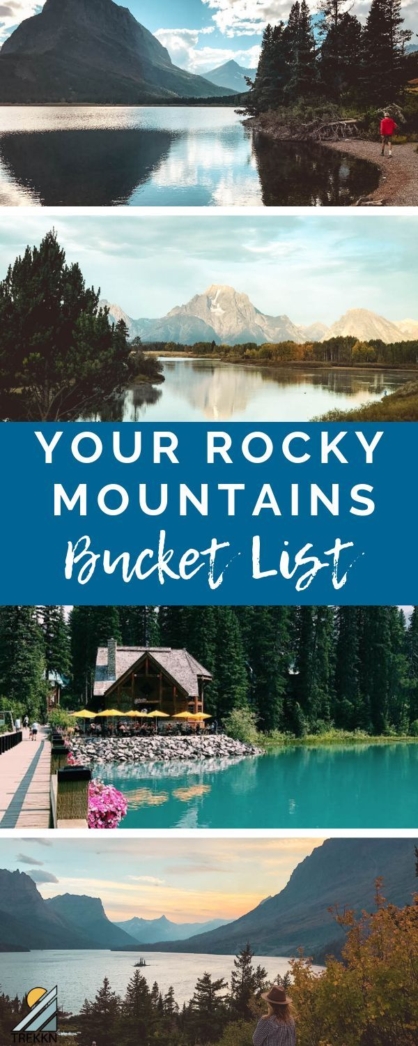 Your Rocky Mountains Trip Bucket List: 5 Spots to See ASAP