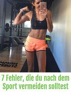 Fitness-Irrtümer: Die 7 schlimmsten Fehler, die du nach dem Sport