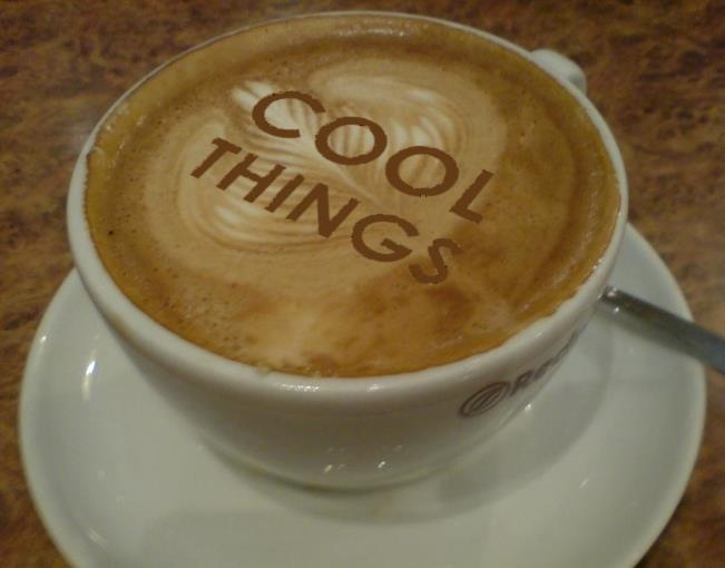 www.coolthings.com.au - a cool cup of coffee
