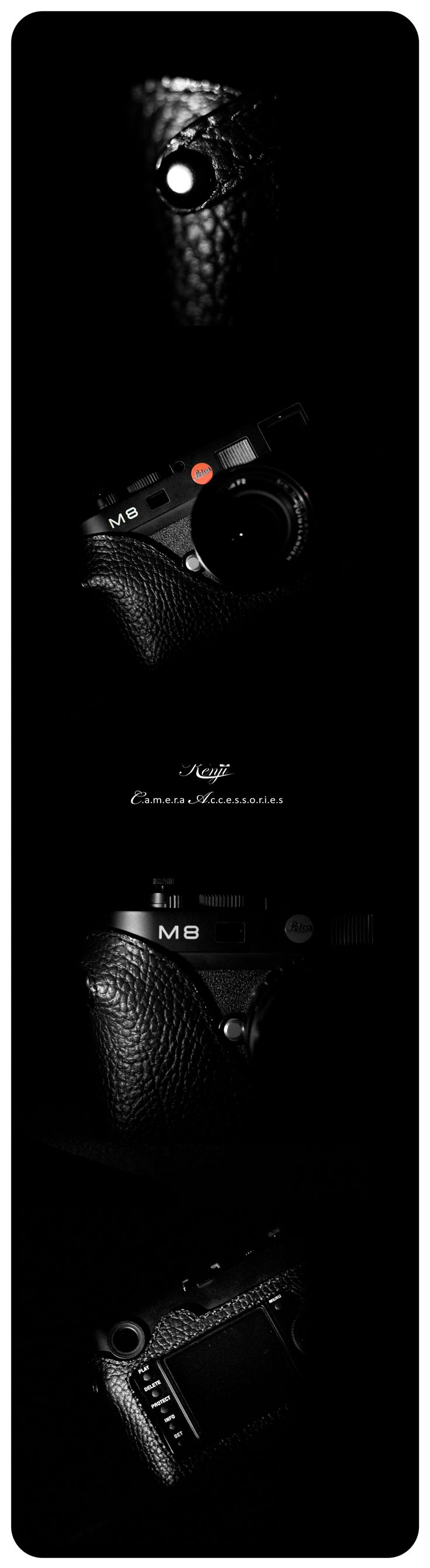 Leica M8 with kenjileather espresso halfcase