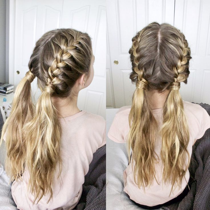 25+ best ideas about Two french braids on Pinterest ...