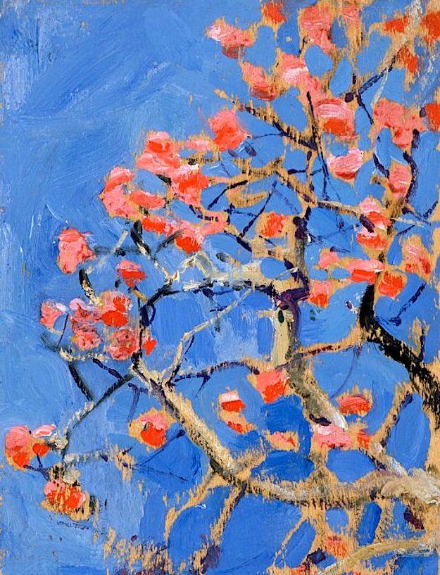 Gallen-Kallela, Akseli Coral tree in blossom, 1909-1910