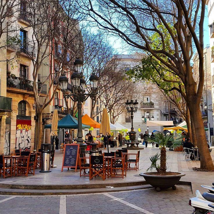 Plaça De Sant Agustí Vell - El Born (Barcelona)