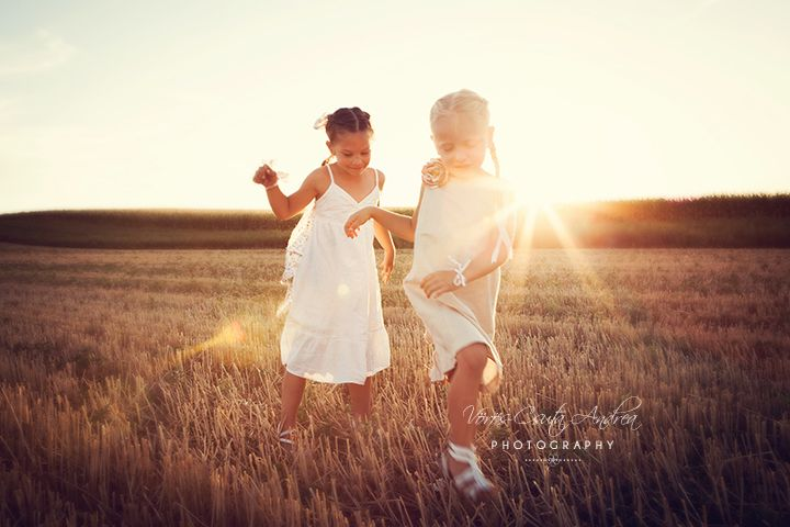 csutafoto, summer, sunset, girls
