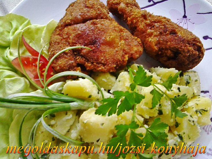 Csirkecomb fűszeres bundában http://megoldaskapu.hu/csirkecomb-receptek/csirkecomb-fuszeres-bundaban Csirkecomb fűszeres bundában | CSIRKECOMB Receptek | Megoldáskapu