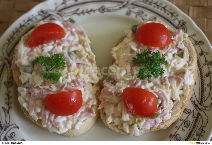Celerový salát na chlebíčky
