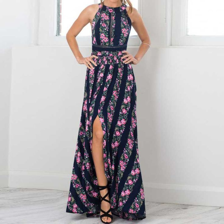OMG Gotta have this! ONLINE EXCLUSIVE ... And you can just click here http://www.rkcollections.com/products/online-exclusive-bohemian-floral-backless-dress?utm_campaign=social_autopilot&utm_source=pin&utm_medium=pin
