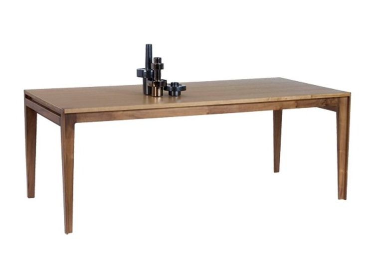 Extending dining table assemblage les contemporains for Table design in mvc 4