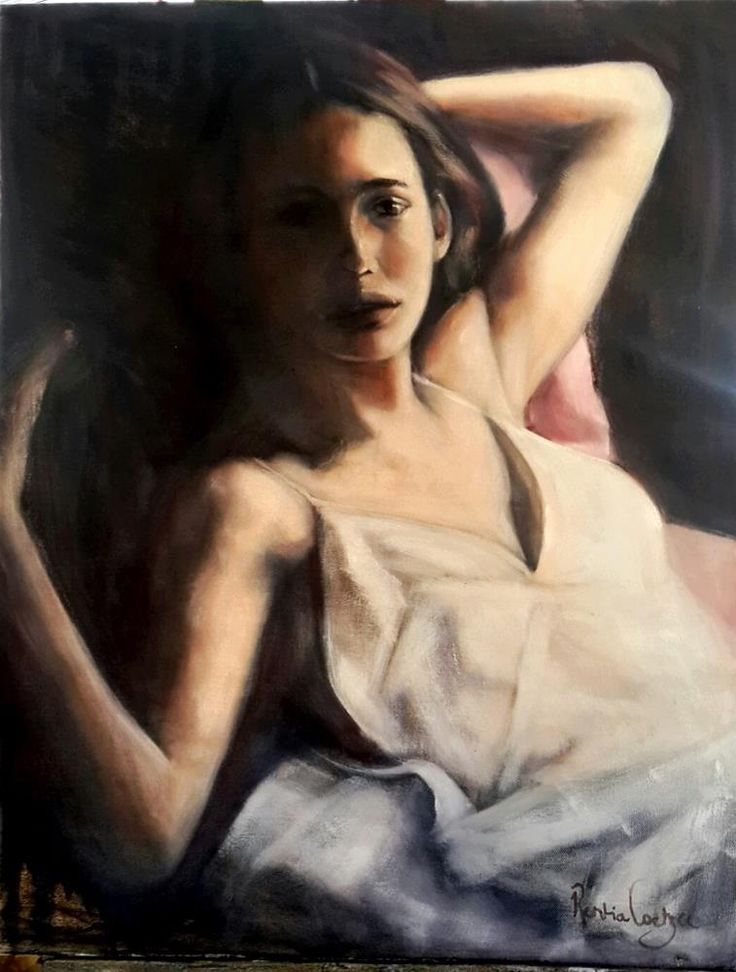 """Softly..."" original fine art by Rentia Coetzee"