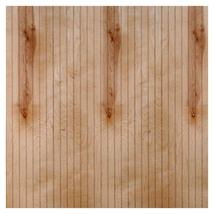 murphy 48 in x 8 ft single bead clear birch wood