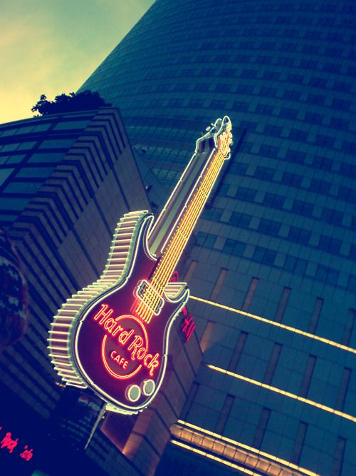 josephhall:  Hard Rock Cafe, Warsaw, Poland
