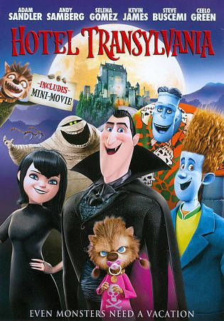 Hotel Transylvania DVD 1 Sealed & BRAND NEW WITH SLIPCOVER First Movie