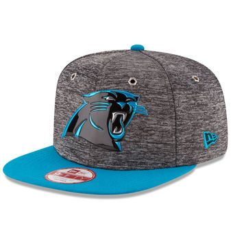 New Era Carolina Panthers Heathered Gray/Blue 2016 NFL Draft Original Fit 9FIFTY Snapback Adjustable Hat