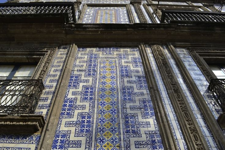 69 best mexican architecture and landmarks images on for Casa de los azulejos en mexico