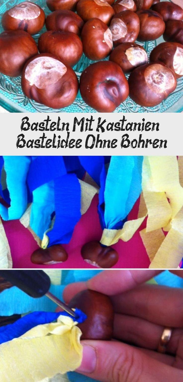 bastelanleitung für kastanienflieger wurfbälle aus