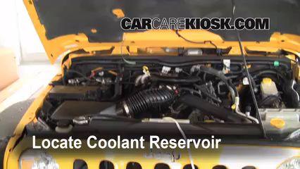 Coolant Flush How-to: Jeep Wrangler (2007-2016)