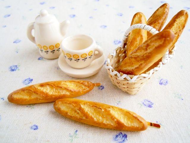 フランスパンのヘアピン
