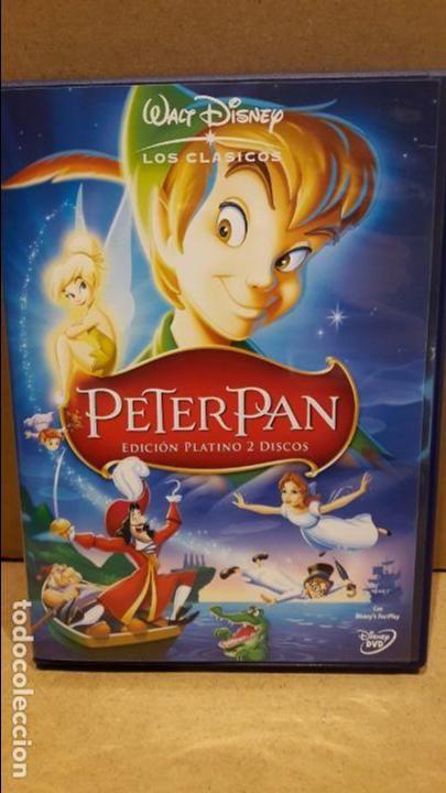PETER PAN. EDICIÓN PLATINO. 2 DISCOS. CLASICOS Nº 14 / DVD DE LUJO