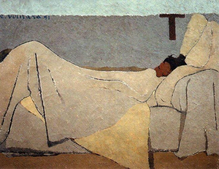 "Les Nabis: Edouard Vuillard, ""In Bed,"" 1891 More"