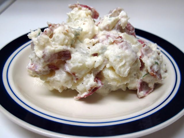 Bacon Ranch Sour Cream Potato Salad or so much for losing weight for the summer.