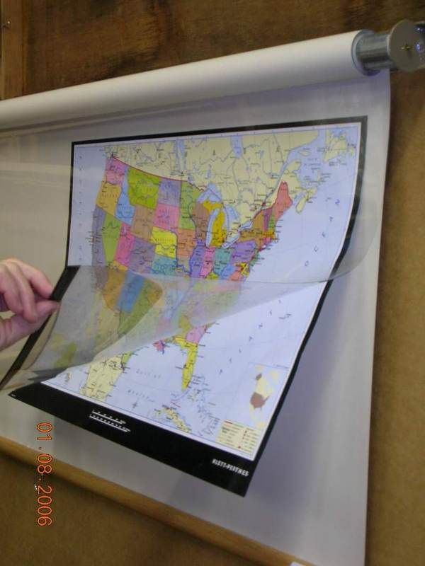 Static Cling Maps Posters And Roller Shades On Pinterest