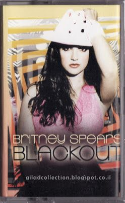 Britney Spears Collection by Gilad: Blackout [Indonesia Cassette]