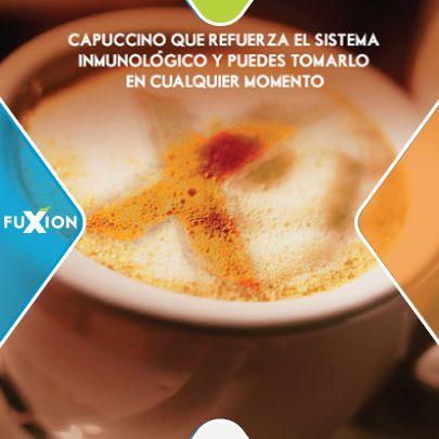 ¿En qué momentos prefieres tomar tu Capuccino de FuXion? Más info: +593986725906 desde cualquier parte del mundo