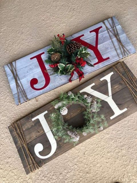 11 Best Inspiring Diy Christmas Wood Signs Design Ideas Holiday
