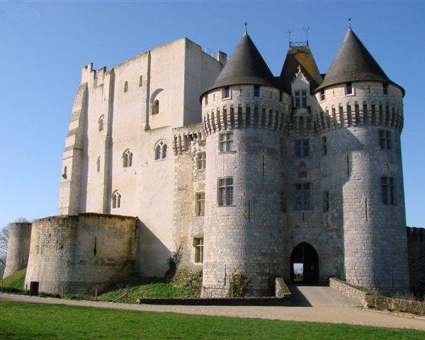 Château de Nogent-le-Rotrou, situé sur la commune de Nogent-le-Rotrou, Eure-et-Loir, région Centre, France.