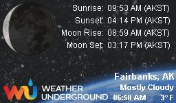 Find more about Weather in Fairbanks, AK