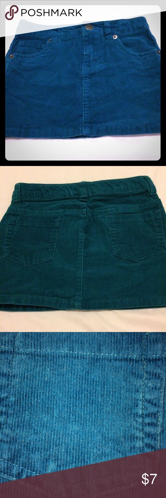Girls Turquoise Jean Skirt Please see photos Bottoms Skirts