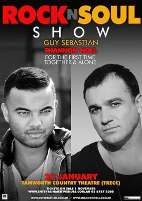 Guy Sebastian And Shannon Noll