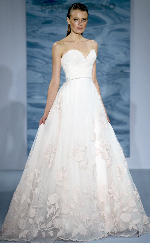 Mark Zunino from Best Looks From Fall 2015 Bridal Collections