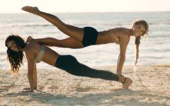 ženy cvičení
