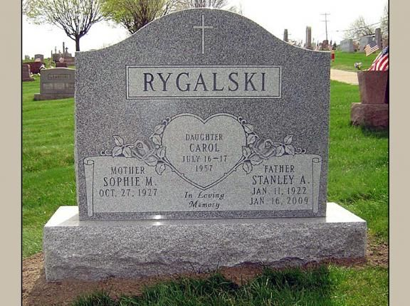 Triple Headstone Markers For Sale Monuments 4000 30000 In