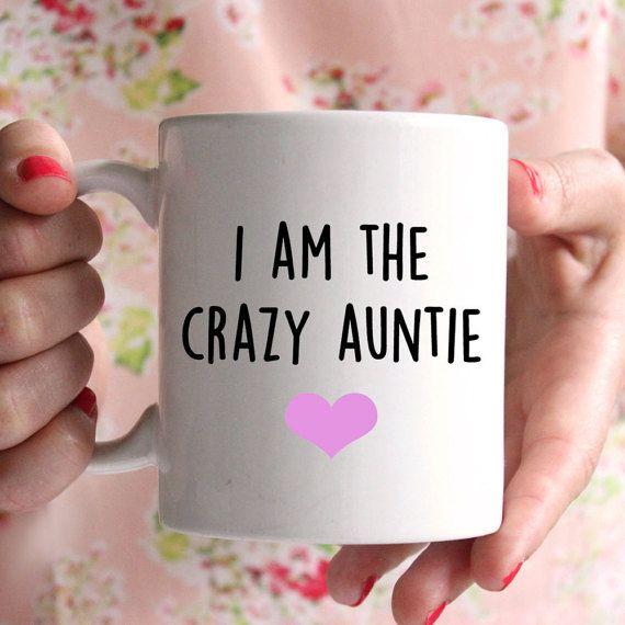Ich bin die verrückte Tante Becher schönes Geschenk von missharry