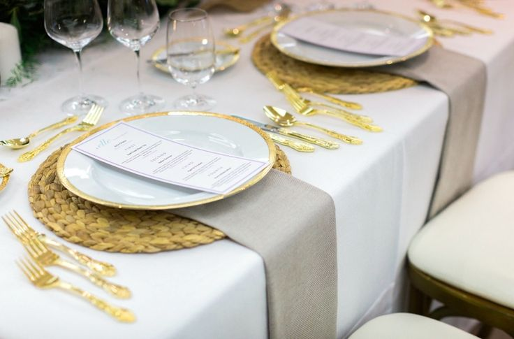 gorgeous place settings
