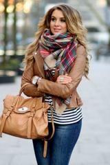 Autumn in New York Blanket Scarf